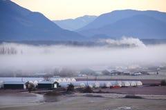 Banco di nebbia Fotografia Stock Libera da Diritti
