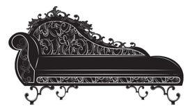 Banco di Rich Baroque illustrazione di stock