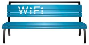 Banco di WiFi Fotografie Stock