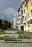 Banco digitale solare a Zagabria Immagine Stock Libera da Diritti
