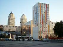 Banco direito de Dnepropetrovsk Fotografia de Stock