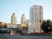 Banco direito de Dnepropetrovsk Imagem de Stock