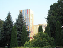 Banco direito de Dnepropetrovsk Foto de Stock