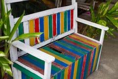 Banco do arco-íris Imagens de Stock