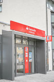 Banco do consumidor de Santander Foto de Stock