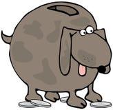 Banco do Doggy ilustração royalty free