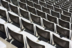 Banco do estádio Fotografia de Stock Royalty Free