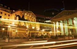 Banco do Inglaterra, Londres Fotos de Stock Royalty Free