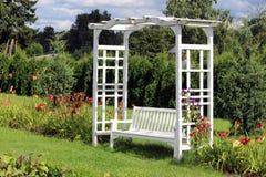 Banco do jardim Fotos de Stock