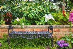 Banco do jardim Fotos de Stock Royalty Free