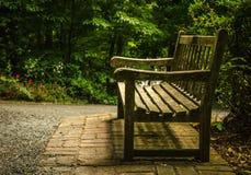 Banco do jardim Foto de Stock Royalty Free