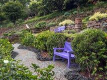 Banco do jardim Fotografia de Stock Royalty Free