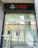 Banco do UBS Fotos de Stock Royalty Free