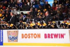 Banco dos Boston Bruins Imagem de Stock