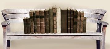 Banco e libri Immagine Stock Libera da Diritti