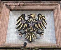 Banco Eagle Logo de Barcalys em Chester Branch imagem de stock