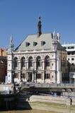 Banco em Londres Imagem de Stock Royalty Free