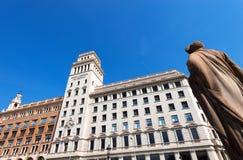 Banco Espanol de Credito - Barcelona Royalty Free Stock Image
