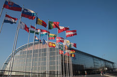 Banco Europeo de Inversiones (BEI) imagen de archivo