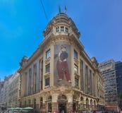 Banco faccia il Brasile Sao Paulo Fotografia Stock Libera da Diritti