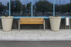 Banco moderno Fotos de Stock