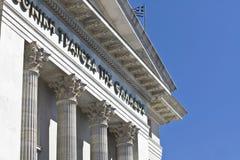 Banco Nacional del edificio de Grecia Imagenes de archivo