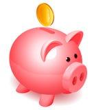 Banco Piggy. Fotografia de Stock Royalty Free