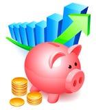 Banco Piggy. Fotografia de Stock