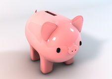 Banco Piggy Fotos de Stock Royalty Free