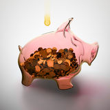 Banco Piggy. Foto de Stock