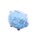 Banco Piggy Imagens de Stock Royalty Free