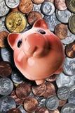 Banco Piggy. Imagem de Stock