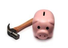 Banco Piggy Fotos de Stock Royalty Free