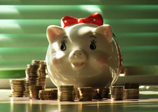banco piggy Fotos de Stock