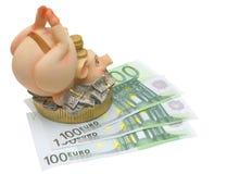Banco Piggy. Fotos de Stock Royalty Free