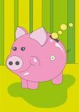 Banco piggy agradável Foto de Stock