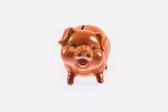 Banco piggy cerâmico Foto de Stock Royalty Free
