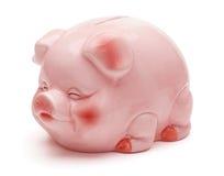 Banco piggy cor-de-rosa. Fotos de Stock Royalty Free