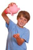 Banco piggy vazio Imagem de Stock Royalty Free