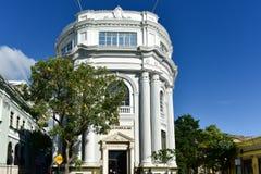 Banco populärt - Ponce, Puerto Rico Arkivbilder