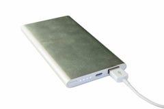 Banco portátil de la alimentación externa Fotos de archivo libres de regalías