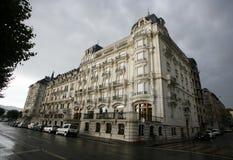 Banco que buiding, Genebra imagem de stock royalty free