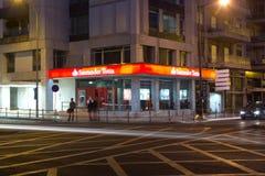 Banco Santander Totta Immagine Stock Libera da Diritti