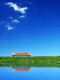 Banco solitário 2 Foto de Stock