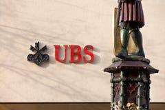 Banco suizo - UBS Fotos de archivo