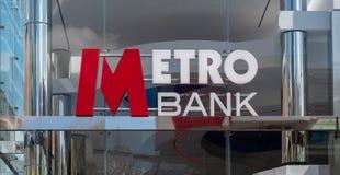 Banco Swindon del metro imagen de archivo