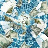 Banco virtual Fotos de Stock