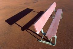 Banco y sombra Imagen de archivo libre de regalías
