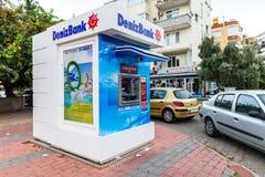 Bancomat da DenizBank immagini stock libere da diritti