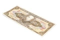 Banconota brasiliana del cruzeiro 5 Immagini Stock